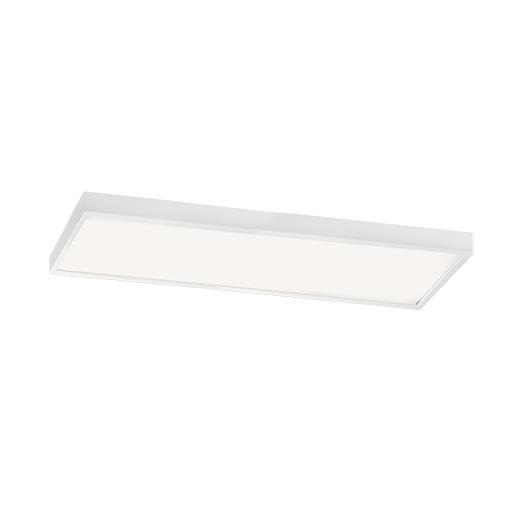 I tec plaf n led rectangular de 56w blanco 4200k - Plafon led cocina rectangular ...