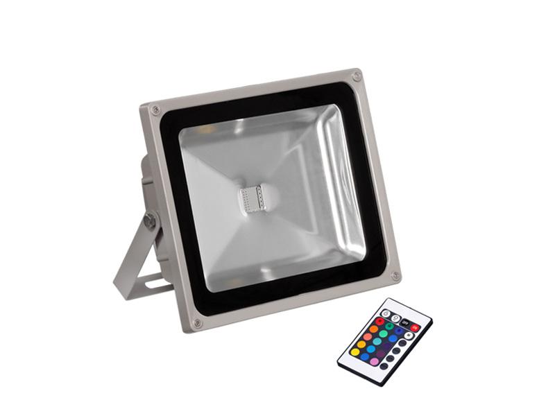 I tec proyector led exterior 50w ip65 rgb - Proyectores led exterior ...
